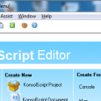 There's been a demand to have an editor for Quixie. Right now, what we have is the outdated KonsolScript Editor (KSE), which was designed to work with the old KonsolScript...